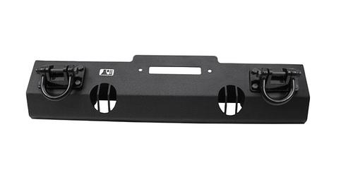 RUGGED RIDGE Front Winch Bumper Grundelement XHD (mit Seilwinden-Ausschnitt), schwarz matt