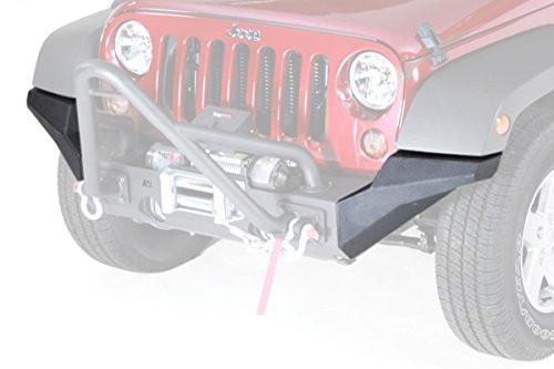 RUGGED RIDGE High Clearence Endstücke für XHD Front Bumper, schwarz-matt