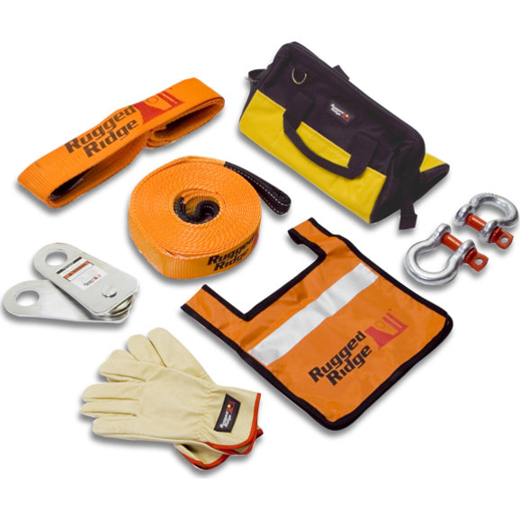 Rugged Ridge Recovery Gear Kit