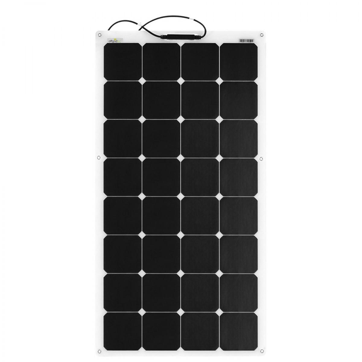 Offgridtec© SPR-F-100 V2 110W 12V flexibles Hochleistungs-Solarmodul