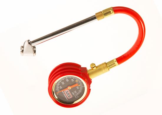 Reifendruckprüfer 0-5 bar, mit PSI/Bar Anzeige