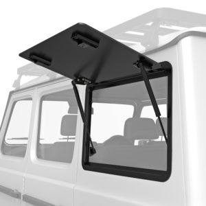 Front Runner Aluminium Gullwing Fenster (linke Seite) - Mercedes Benz G-Klasse