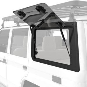 Front Runner Gullwing Fensterscheibe (linke Seite) aus Glas - Toyota Land Cruiser 70