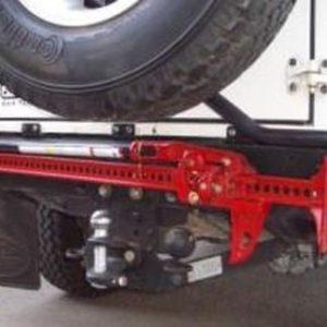 Front Runner Wagenheber Halterung für die Heckstoßstange - Land Rover Defender