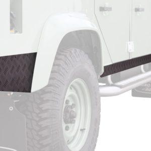Land Rover Defender 110 Schwellerschutz / schwarz - von Front Runner