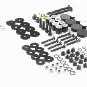 Jeep Wrangler JL 4 Door (2018-Current) Foot Rail Installation Kit